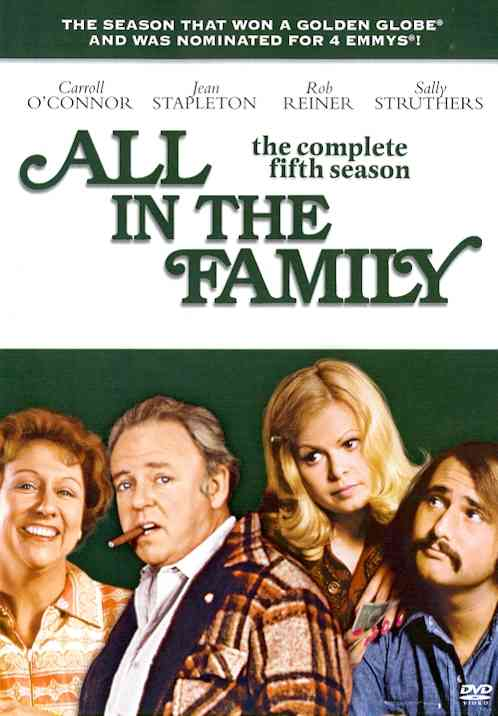 ALL IN THE FAMILY:COMPLETE 5TH SEASON BY ALL IN THE FAMILY (DVD)